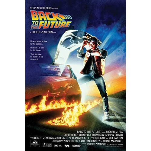Pyramid International Back TO The Future, Multicolour, 91.5 x 61 x 0.03 cm