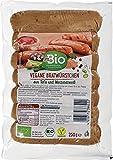 dmBio Vegane Bratwürstchen (Salchicha vegana) 250g