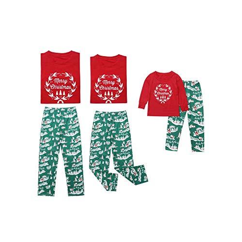 Niño de la Navidad Padres Juego de Ropa Feliz Navidad de la Familia Pijamas para Adultos Mujeres Joven Dormir Pijamas