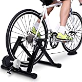 Bike Trainer Stand - Sportneer Steel Bicycle Exercise Magnetic Stand with Noise Reduction Wheel,...
