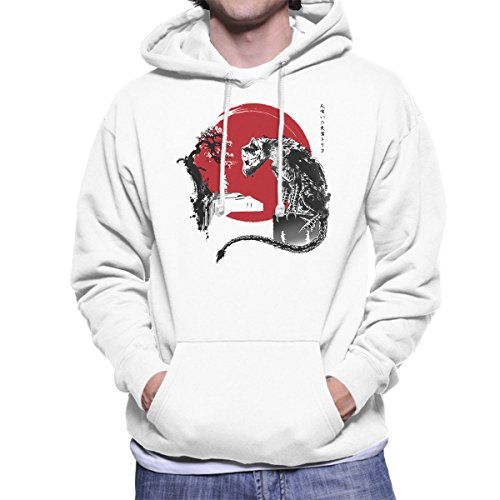 Cloud City 7 The Guardian Inspired by The Last Guardian Men's Hooded Sweatshirt