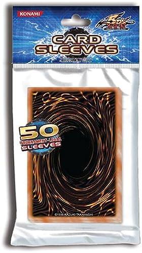 Yu-Gi-Oh Kartenhüllen, Schwarzs Design, 50 Stück
