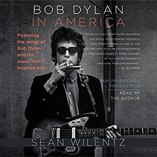 Bob Dylan in America audiobook cover art