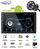 FABTEC Android 7 inch Screen with Gorilla Glass IPS Display Universal Car Stereo