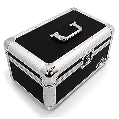"Gorilla 7"" Singles Vinyl Record Carry Case Storage Box Tough Strong Holds 200pcs inc Lifetime Warranty"