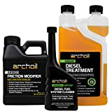 Archoil Ultimate Diesel Kit - AR9100 Friction Modifier (16oz) + AR6500 Diesel Treatment (33oz) + AR6400-D Diesel Fuel System Cleaner (12oz)