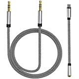 Aux Cord for iPhone for iPhone X/XS/11/11 Pro/11 Pro Max/8/8Plus/7/7Plus Aux Cable for Car 3.5mm Aux Cable Premium Auxiliary Audio to Car Stereo/Speaker/Headphone Adapter Support All iOS System