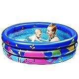 Joyjoz Piscina Inflable Infantil. Piscina de Agua para niños, Material plástico Ideal para bebés y niños y niñas pequeños. Tamaño 120 x 25 cm
