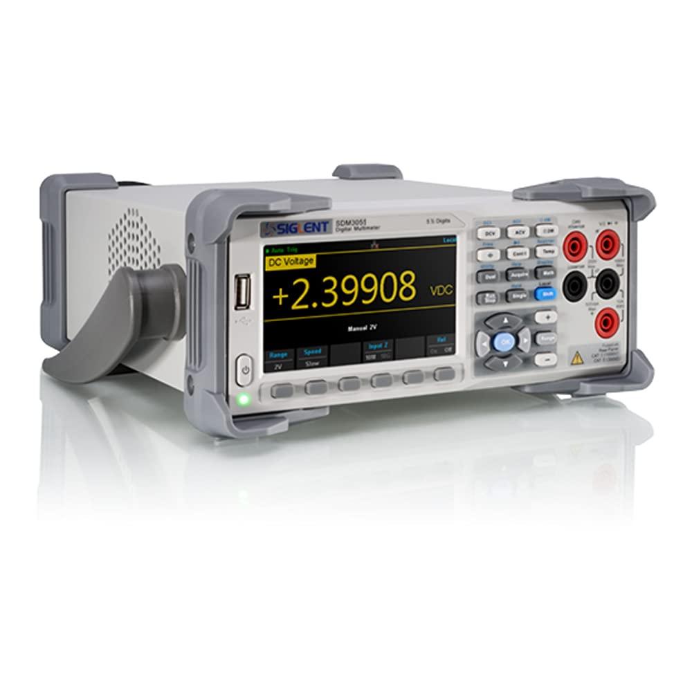 Ranking TOP16 Siglent Technologies SDM3055 5.5 Digit Digital Multimeter Time sale White