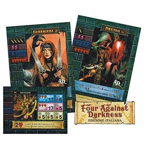 Fantàsia One Deck Dungeon - Bonus Pack Four Against Darkness