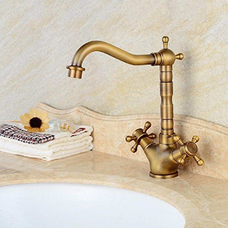 NewBorn Faucet Wasserhhne Warmes und Kaltes Wasser groe Qualitt der Antike Kupfer kalt Wasser Wasser Einzelne Bohrung Waschen Tippen