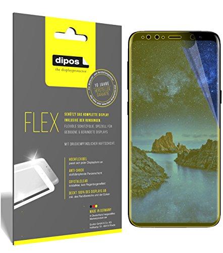 dipos I 3X Schutzfolie 100prozent kompatibel mit Samsung Galaxy S9 Folie (Vollständige Bildschirmabdeckung) Bildschirmschutzfolie
