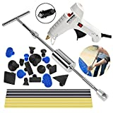 Super PDR PDR Paintless Débosselage Réparation 25 PCS Marteau Coulissant Kit Debosselage Outillage Carrosserie Voiture Automobile Rayure Suppression Dent Reparation Auto