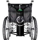 portabottiglie di ossigeno, adatto per sedia a rotelle borsa per bottiglia di ossigeno borsa per sedia a rotelle borsa per bottiglia di ossigeno solido fibbie facili, borsa per riporre la borsa dopo