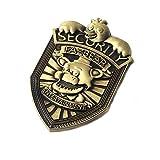 Fnaf Security Badge Metal Pin, Freddy Fazbear, Chika, Five Nights At Freddy Cosplay Uniform, Security Pins And Badges, 5 Nights At Freddy's Metal Badge Costume