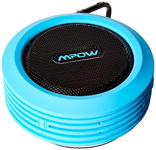 Mpow Buckler Portable Wireless Bluetooth Shower Speaker Waterproof with Mic,...