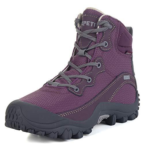 SKENARY Women's Hiking Boots Waterproof Lightweight Hiking Shoes Outdoor Trekking Trail