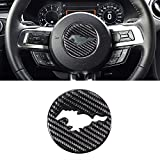 ramuel Compatible with Ford Mustang Steering Wheel Cover 3D...