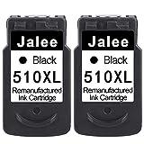 Jalee 2 Nero Cartucce d'inchiostro rigenerata in sostituzione di Canon PG-510 XL Compatibile per Canon PIXMA MP230 MP235 MP240 MP250 MP260 MP270 MP280 MP480 MP490 MP495 MP499 MX320 MX330 MX340 MX350