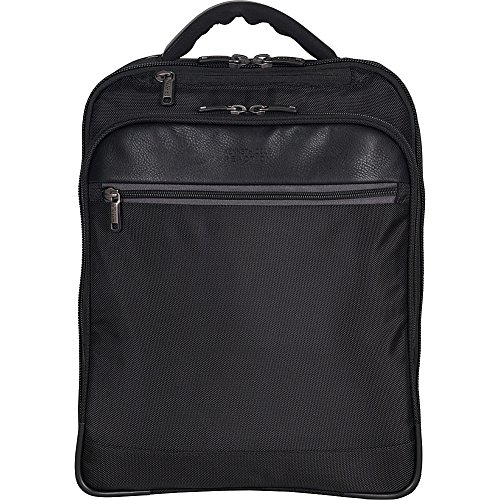 Kenneth Cole Reaction ProTec Slim Checkpoint Friendly 14.1' Laptop & Tablet Business Backpack, Black, Laptop