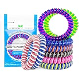 The Mosquito Company, Mosquito Repellent Bracelet, 10 insect repellent mosquito bands, Double Strength