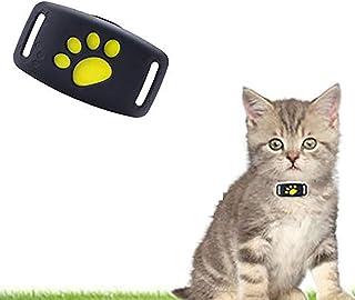 耐水性GPSペットロケーター、無制限の範囲の猫の犬の追跡装置、リアルタイム追跡、キーバッグの子供用、充電式