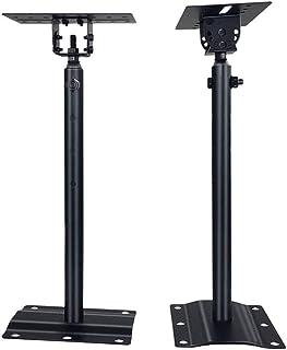 Bookshelf Speakers Height Adjustable Floor Speaker Stand KTV Stage Speakers Multi-angle Adjustable Speaker Stand -suitable...