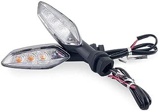 Rear LED Turn Signal Light Lamp For DUCATI MONSTER 659 696 796 797 821 1100 1200/ Panigale 899 959 1199 1299/ Hypermotard Hyperstrada 821 939 950 (Clear)