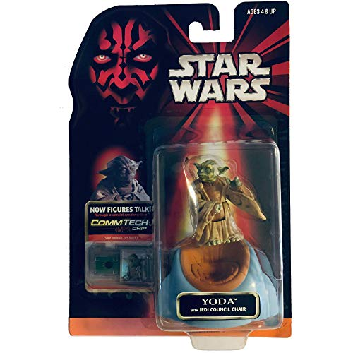 Star Wars Episode 1 - Yoda with Jedi Council Chair