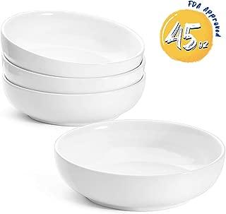 Best deep pasta bowl set Reviews