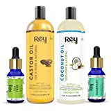 Rey Naturals® hair oils combo/hair care kit