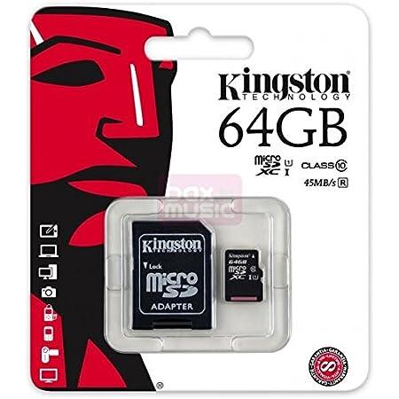 Carte Micro SD SDXC 64 GO Classe 10 Pour Samsung Galaxy J3 (2016 ...