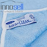 Aquaclean Microfaser PREMIUM SENSATION Top Qualität blau 10 Stück 40x40 cm