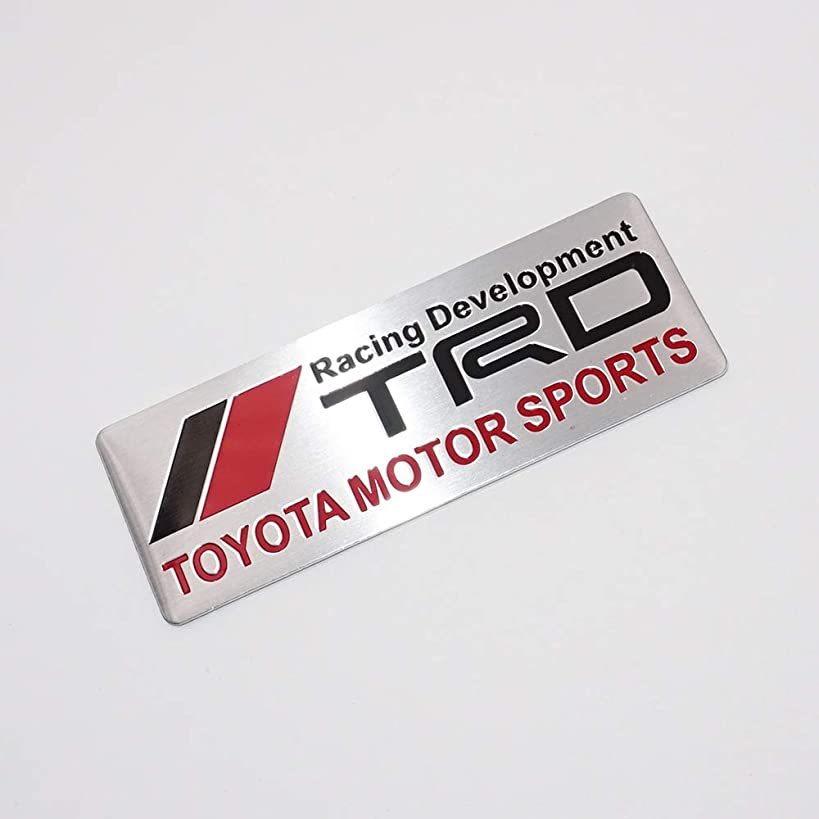 US85 Auto TRD Racing Development Emblem Badge Sticker Decal (Toyota Motor Sports)