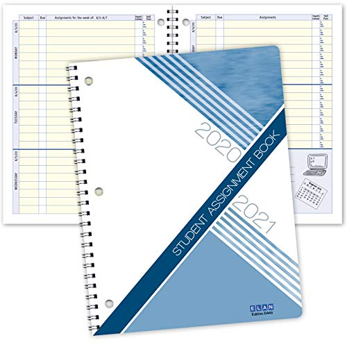 Dated Student Planner: for Middle or High School August - June Dated for 2020-2021 Academic Year (DA40)
