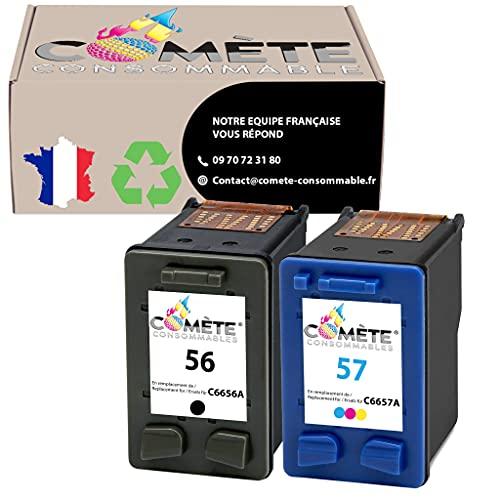 Cartuchos de tinta de repuesto para HP 56XL 57XL para impresora HP DeskJet 450ci 5150 5550 9680gp HP OfficeJet 4212 4215 PSC 1210 1215 1315 1350 2105 HP Photosmart 7660