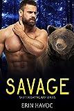 SAVAGE: A BBW Bear Shifter Biker Romance (Shifter Dating App Book 8) (English Edition)
