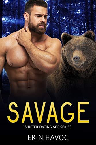 SAVAGE: A BBW Bear Shifter Biker Romance (Shifter Dating App Book 8)