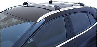 Barras portaequipajes para coche, portaequipajes Viva 2 integrado, para Clase C SW desde 2015 aluminio