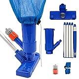 Best Pool Vacuum Cleaners - Maalr Pool Vacuum Cleaner Set with wBrush Leaf Review