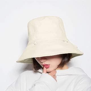 StyleZ Women Reversible UV Sun Protection Bucket Hat Wide Brim Cap