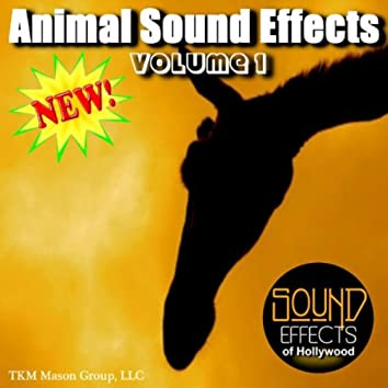 Animal Sound Effects - Volume 1