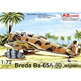 AZモデル 1/72 イタリア空軍 ブレダ Ba-65 フィアットA-80エンジン搭載機 プラモデル AZM7518