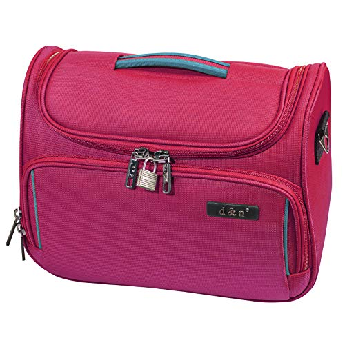 D&N Travel Line 7904 Kosmetikkoffer, 33 cm, 14L, Pink