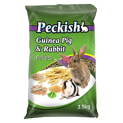 Peckish Guinea Pig and Rabbit Pellets, 3.5kg
