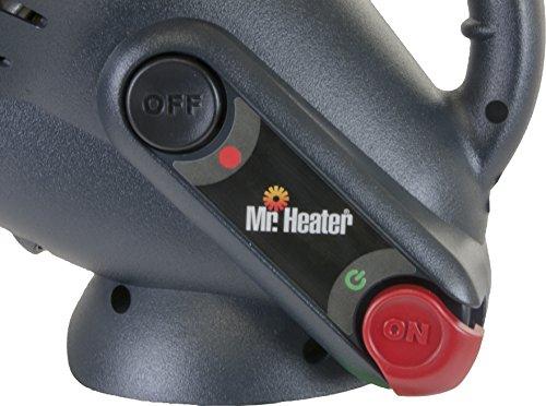 Mr. Heater Little Buddy Gasheizung inkl. Adapter für Gaskartuschen mit 7/16-Gewinde; - 9