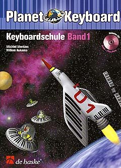 PLANET KEYBOARD 1 - KEYBOARDSCHULE 1 - arrangiert für Keyboard - mit CD [Noten / Sheetmusic] Komponist: MERKIES MICHIEL AUKEMA WILLEM