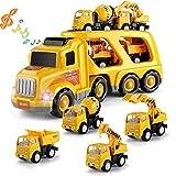 TEMI Construction Vehicles Transport Truck...