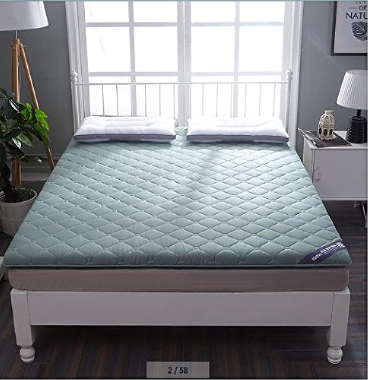 Folding Tatami Floor mat Floor Mattress Pad,Soft Quilted Mattress Predector Tatami Mattress Bedroom Folding Mattress Dormitory Single Bed-G 90x200cm(35x79inch)