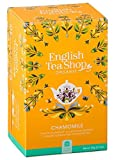 English Tea Shop - Manzanilla orgánica, sin cafeína, hecha en Sri Lanka, 1 x 20 bolsitas de té (20 gramos)